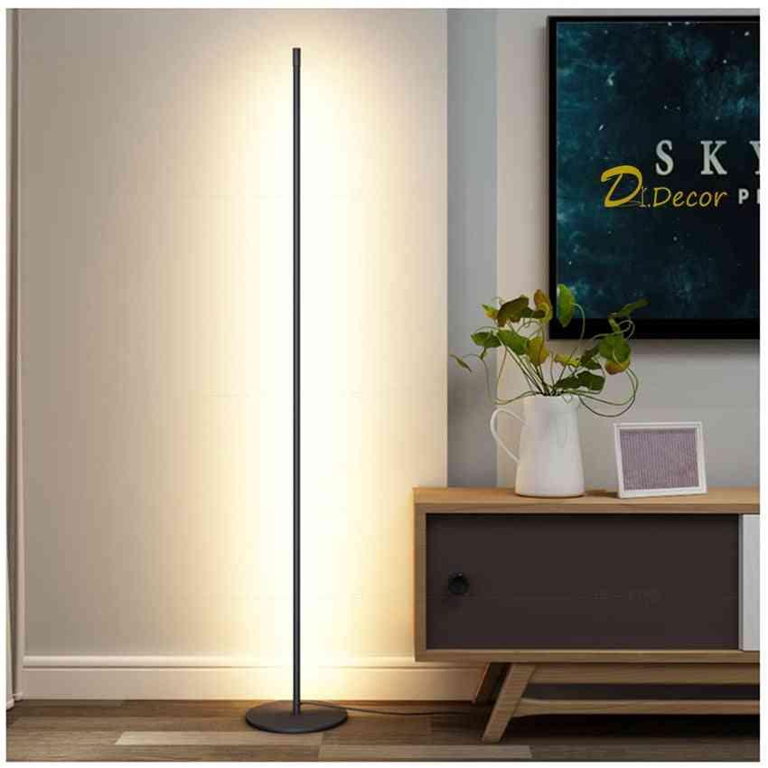 Modern Led Floor Lamp, Bedside Corner Decoration Stand Light