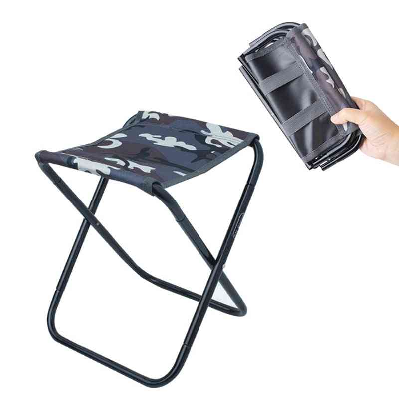 Outdoor Portable Camping Chair - Fishing Foldable Travelling Stool