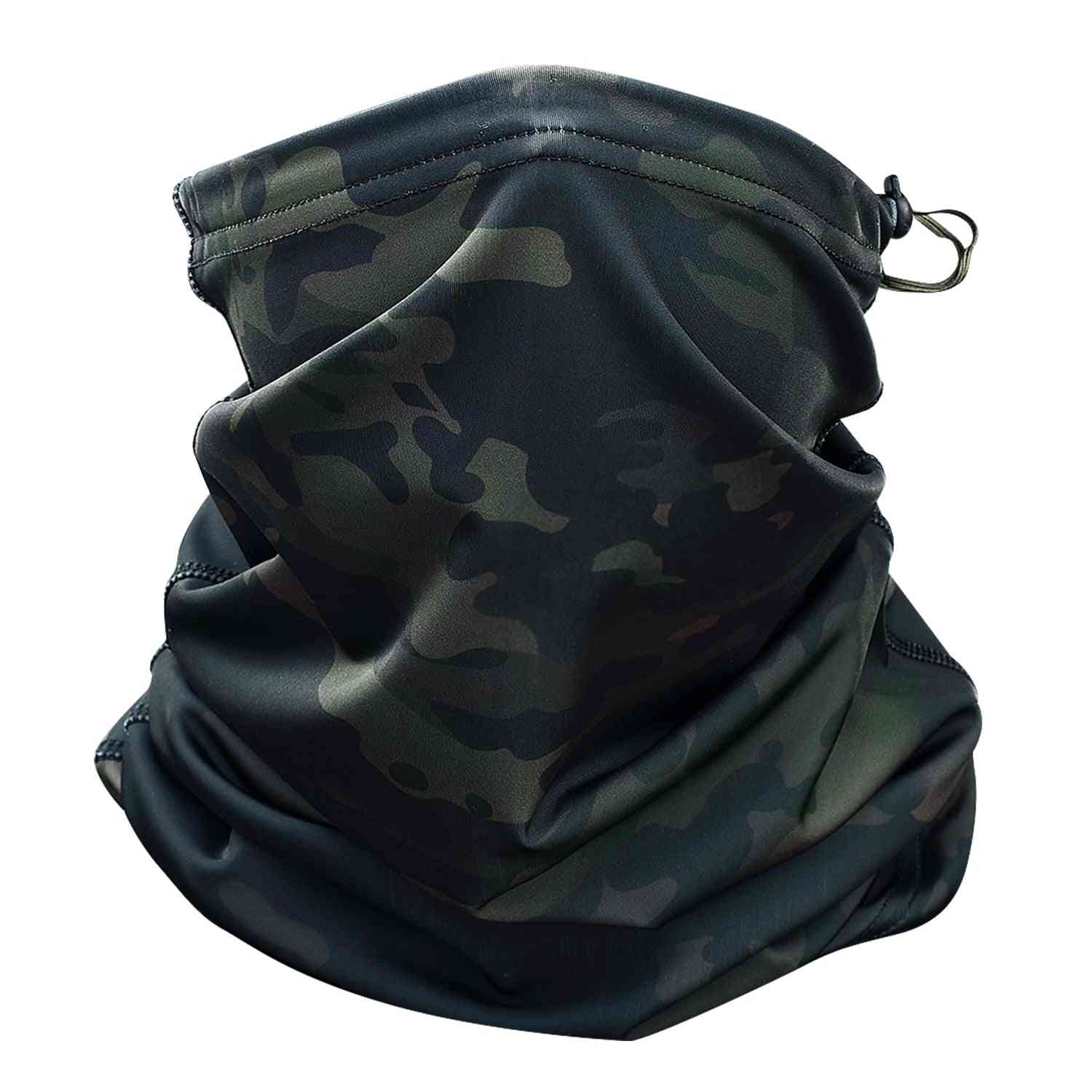 Magic Headband, Multicam Camouflage Tactical Neck Warmer For Military