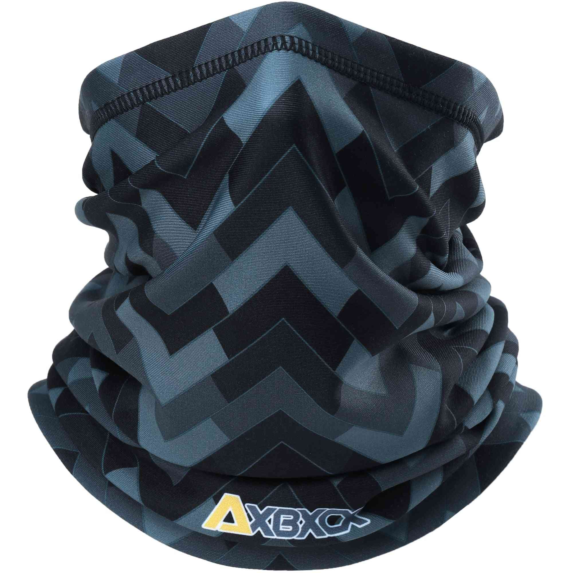 Winter Thermal Fleece Neck Gaiter Tube Scarf Warm Snowboard Half Face Cover