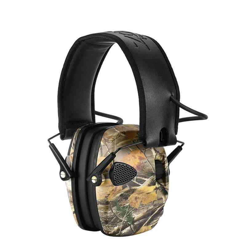 Tactical Electronic Earmuff Headphones, Hearing Ear Protection For Hunting, Shooting