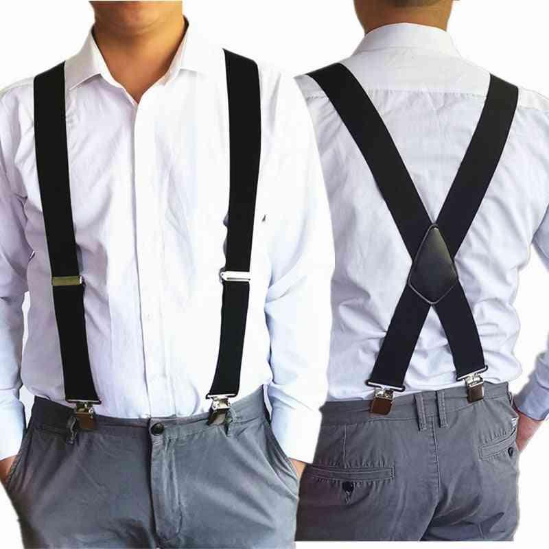 High Elastic, Adjustable Suspender -trousers Braces