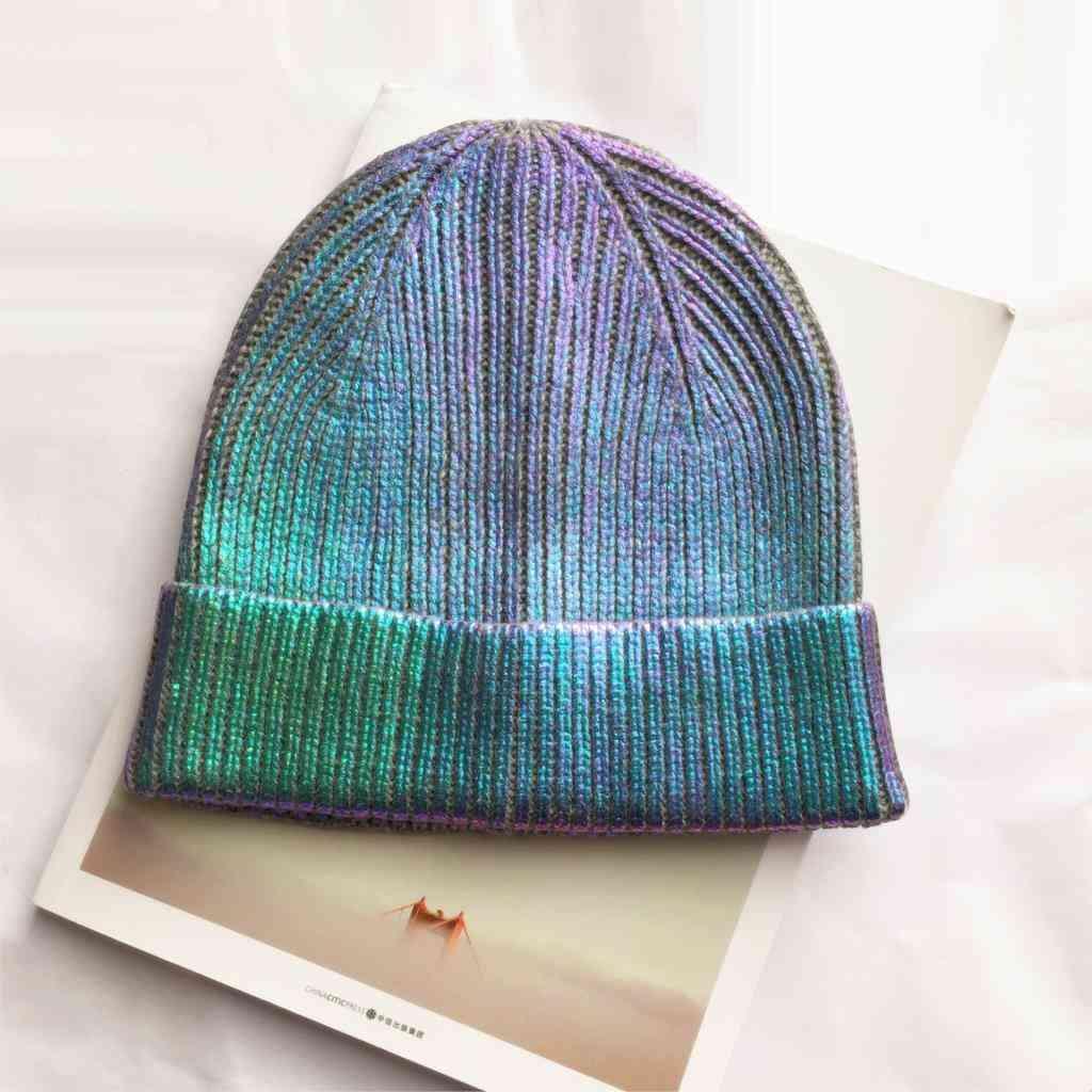 Women's Knitted, Winter Warming Laser Cap