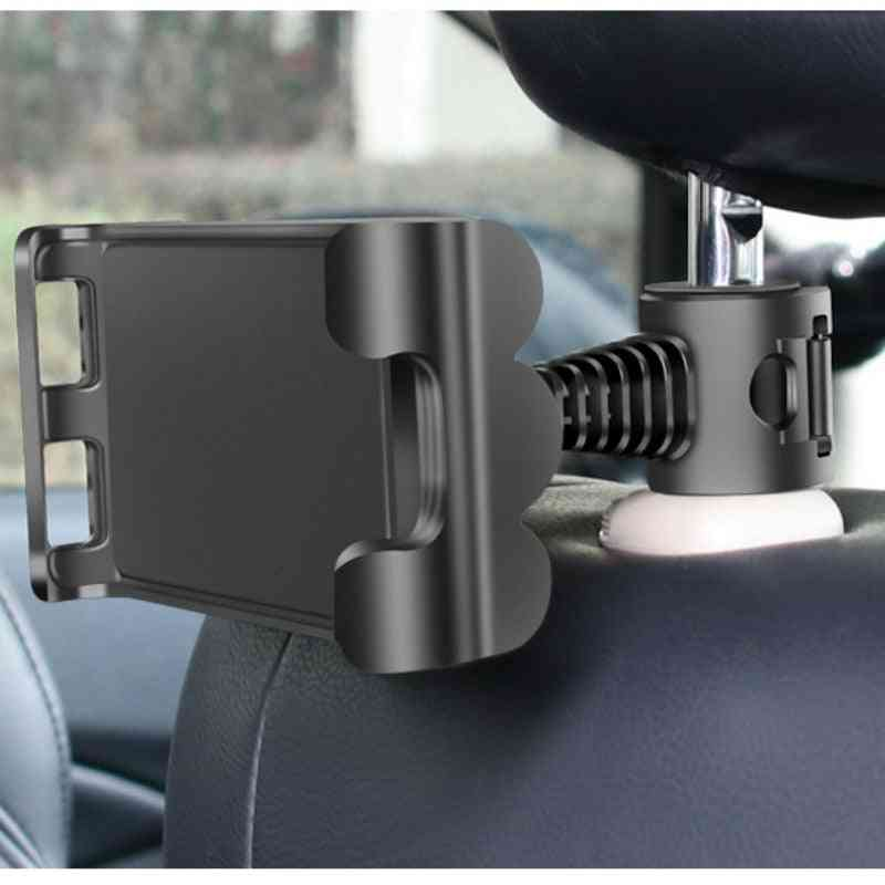 Adjustable Car Tablet Stand Holder Seat Back Bracket