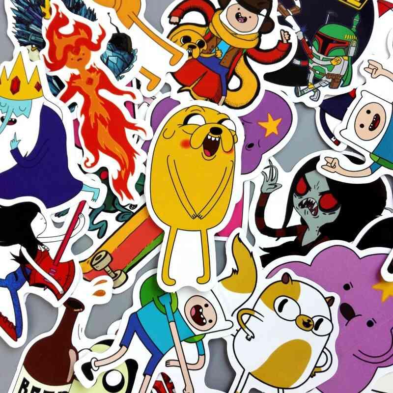 Cute Cartoon Pattern  Waterproof Stickers