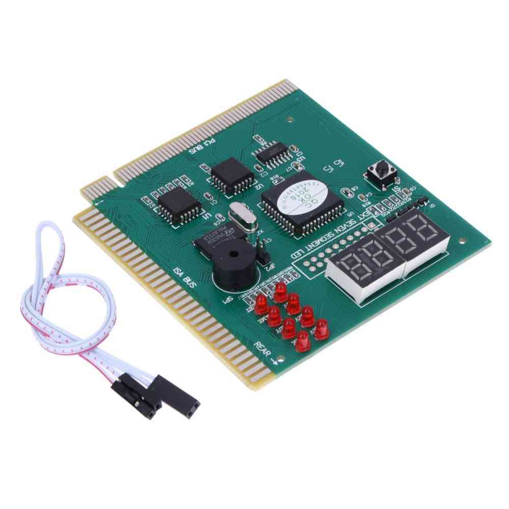 4-digit Pc Analyzer Diagnostic Post Card, Motherboard Tester Indicator/ Led Lcd Display