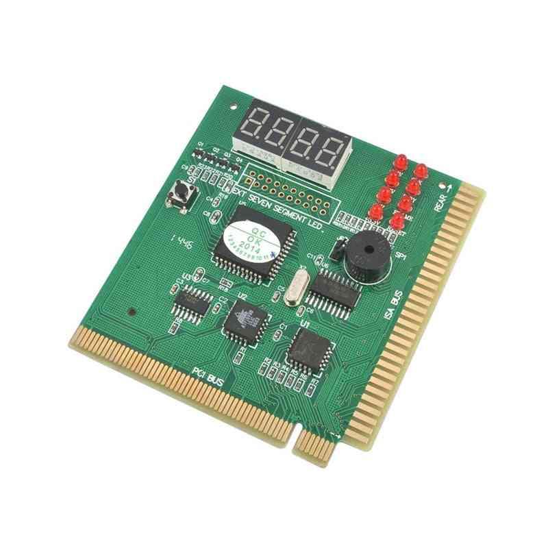 Ak Pci & Isa Motherboard Tester, Diagnostics Display 4-digit Pc Computer Mother Board