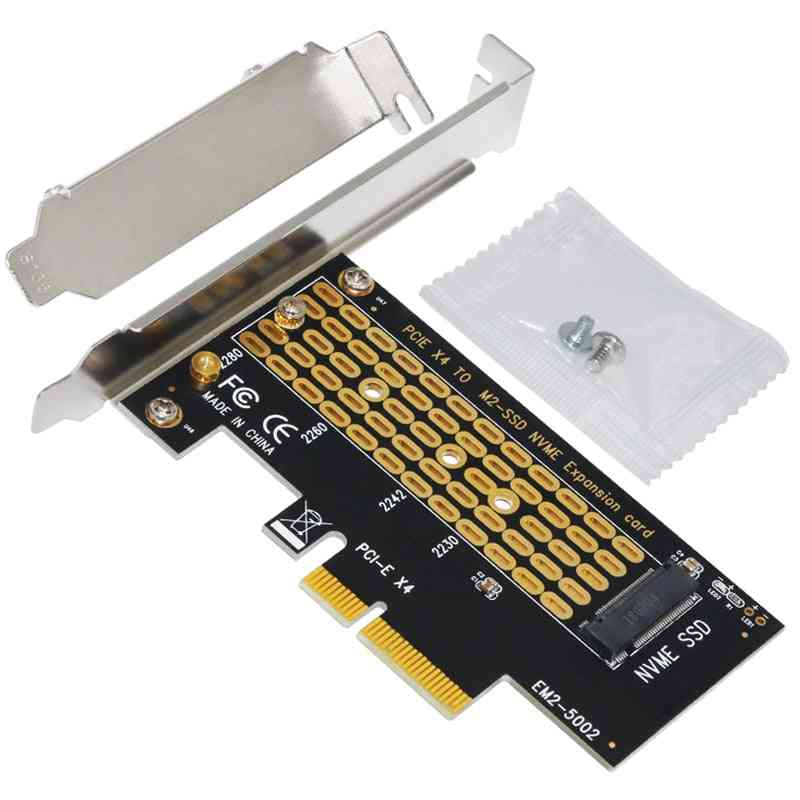 Add On Nvme M.2 To Pci-e3.0 X4 Riser Card Adapter