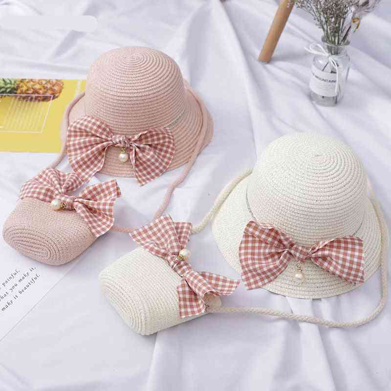 Cute Straw Hat, Should Bag For Tour
