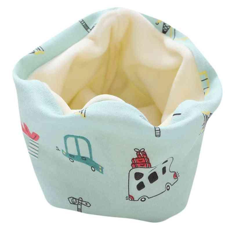 New Spring/winter Baby Cotton Plush Scarf Warm Thick Neckerchief