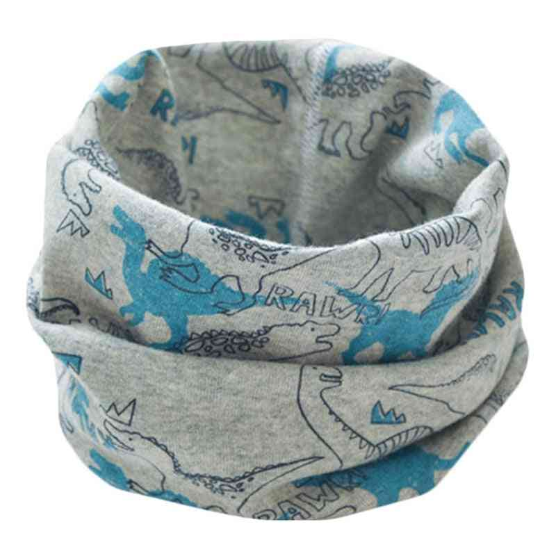 Children Cotton Neck Scarf, O Ring Scarves  Magic Neckerchief