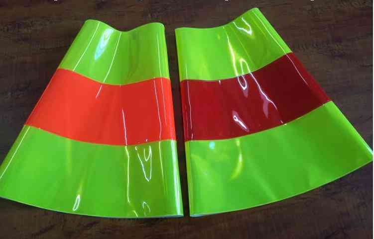 Reflective Road Cone, Pvc Traffic Safety, Protective Warning Sleeve
