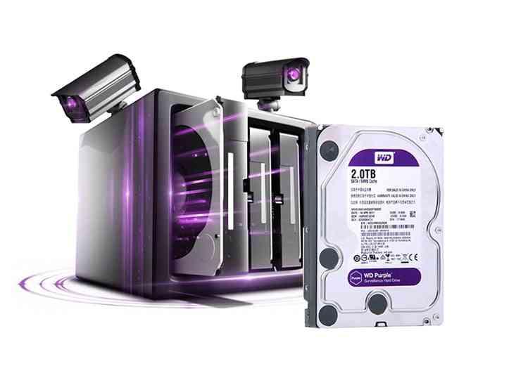 Wd Purple 2tb Surveillance Internal Hard Drive