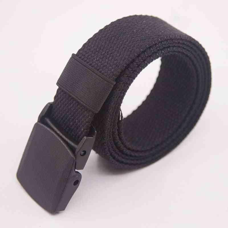 Fashion Plastic Buckle Casual Cowboy Belts Ceinture For Men/women