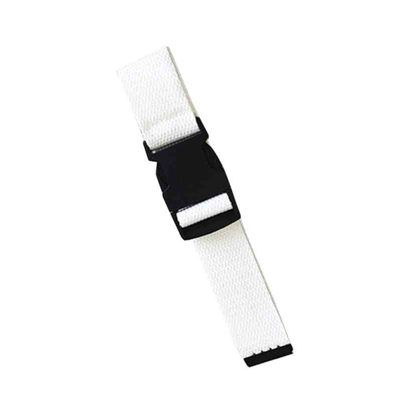 Adults Adjustable Vintage Plastic Buckle Elastic Korean Style Canvas Belts