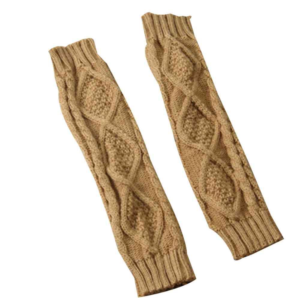 1 Pair Sleeveless Warmer Fingerless Gloves