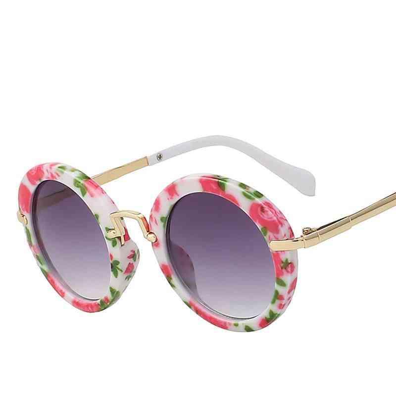 Cool Round Anti Uv Vintage Eyeglasses For