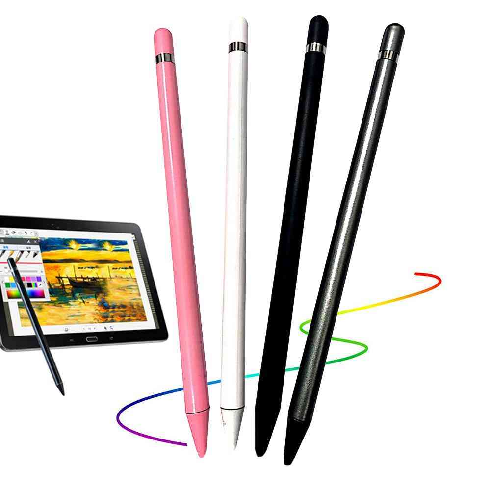 Anti-fingerprints Soft Nib Capacitive Touch Screen Stylus Pen