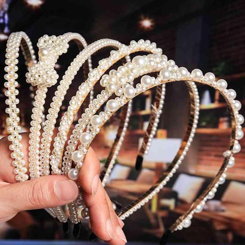 Luxury Big Pearl Hairbands/girls