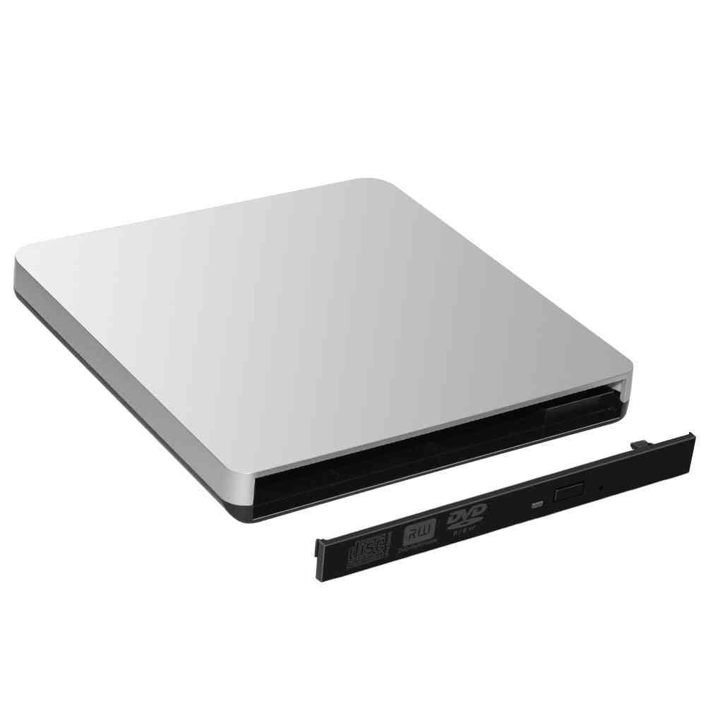 Usb External Enclosure Case For Laptop Sata Slot Loading In Optical Dvd Drive