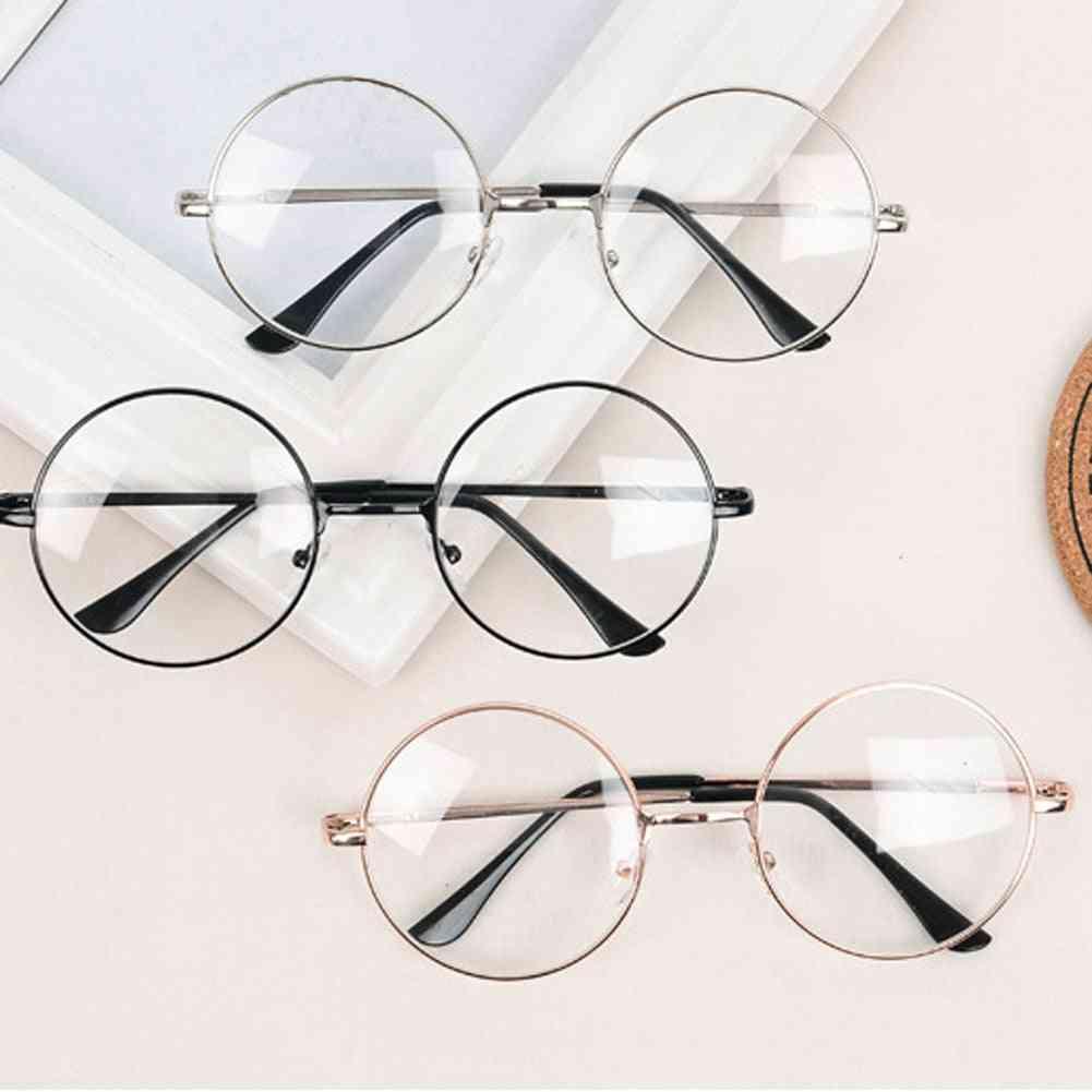 Classic Round Optical Mirror Glasses