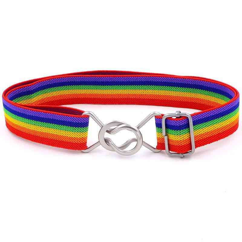 Kid Elastic Knitted Belt For,, Easy Toddler Web Waistband