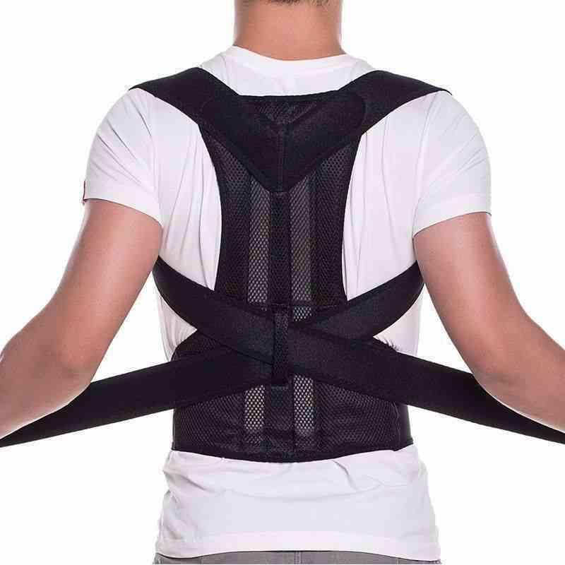 Magnetic Upper Back Shoulder Support Corrector Belt