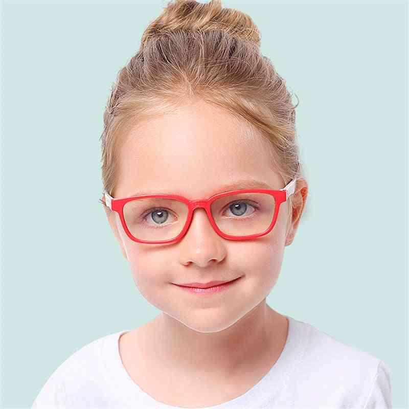 Kids Spectacles Goggles Frame Eyewear, Uv Protection Anti Bue-ray Eyeglasses