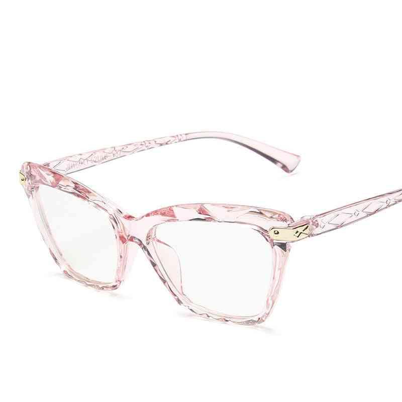 Cateye Glasses, Retro Frame/men, Eyeglasses