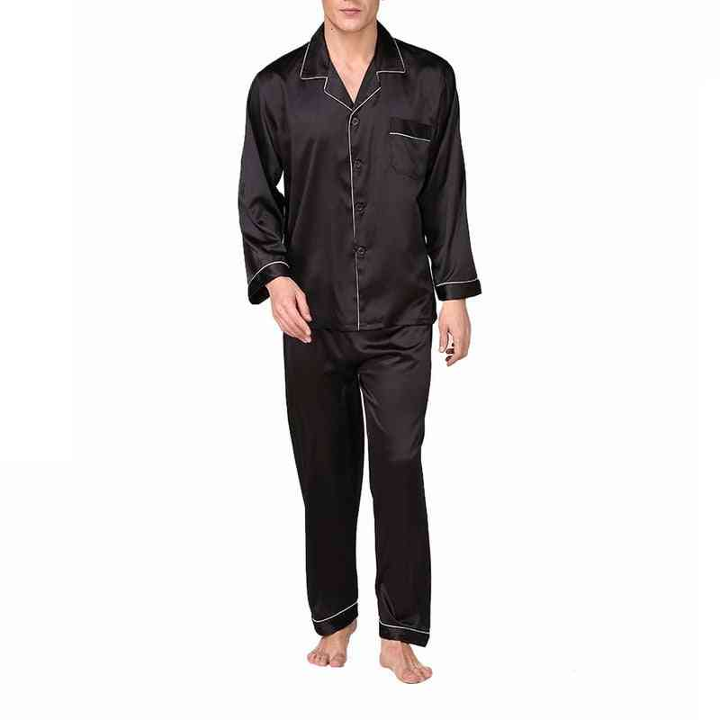 Modern Style, Soft Comfortable Satin Silk Sleepwear