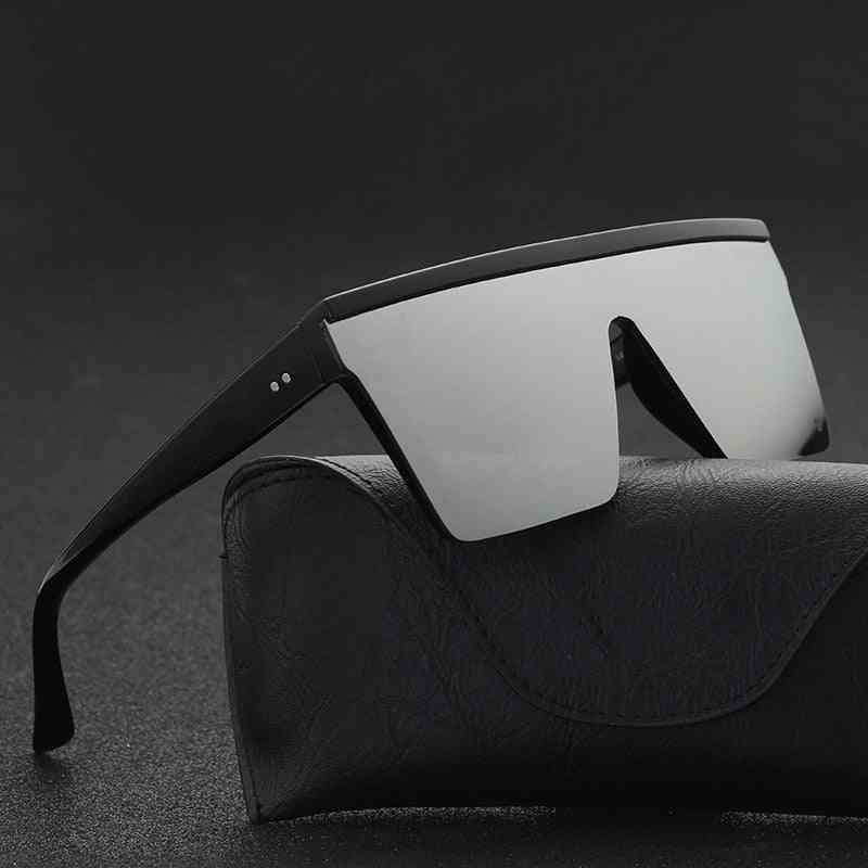 Flat Top Sunglasses, Square, Shades Gradient Cool Design For Mmen