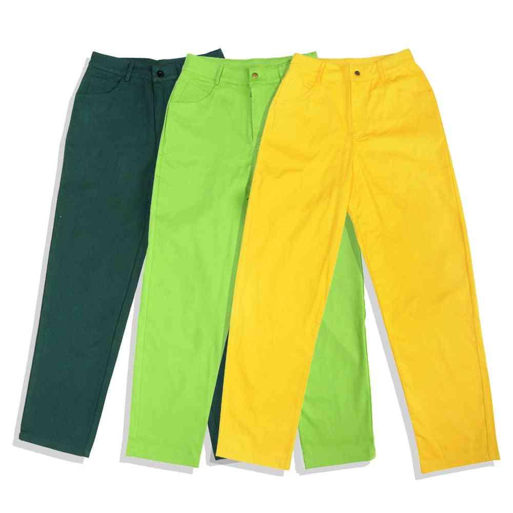 Women's Casual Punk Harem Trousers Autumn High Waist Hip Hop Long Pants
