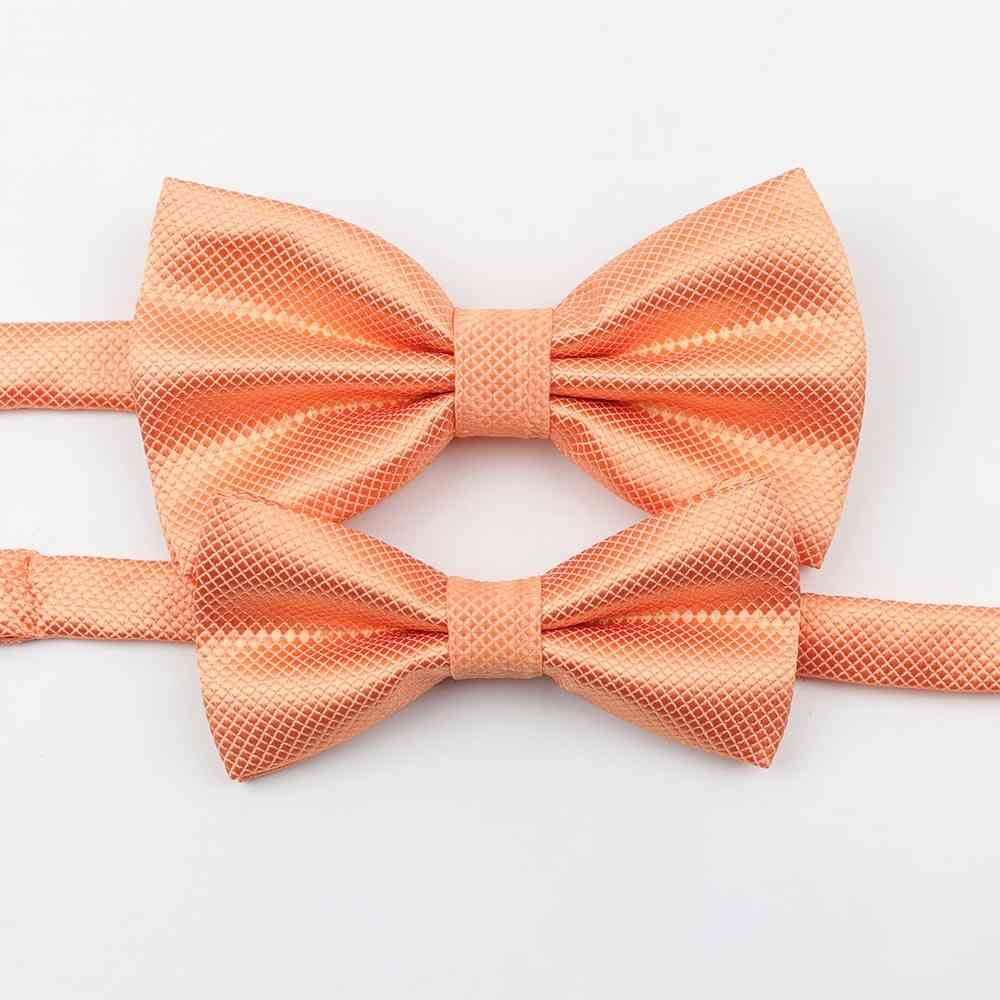 Colorful Butterfly Satin Bow Tie