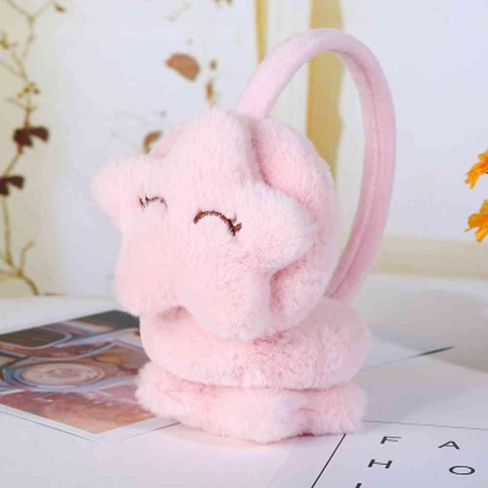 Children Winter Plush Earmuffs - Soft, Thick, Warm, Ear Cover