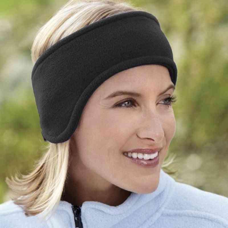 Double Thick Winter Warm Earmuffs Head Band