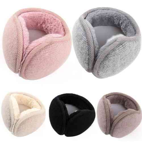 Winter Warm, Faux Fur Adjustable Earmuffs  For