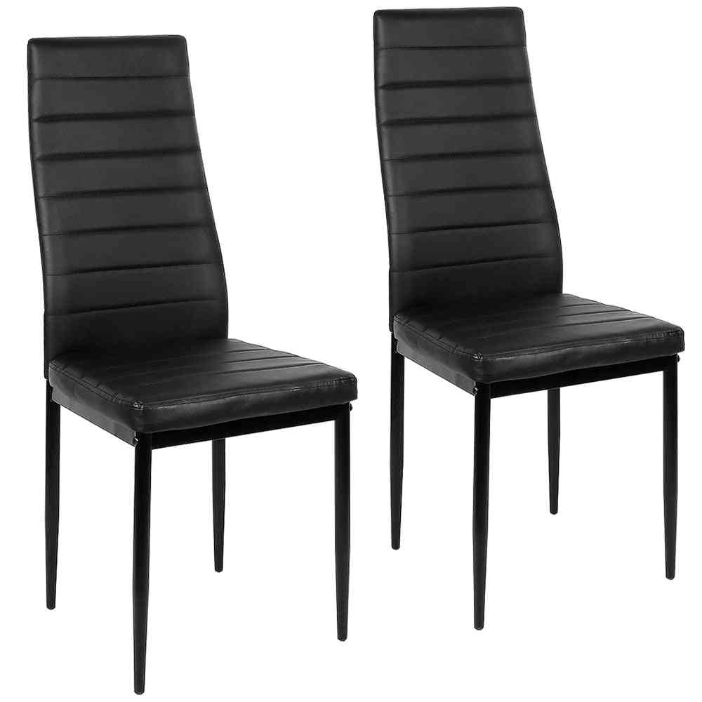 Nordic Style Modern Leather Durable High Quality Lounge Chair, Dining Chairs