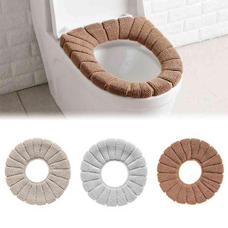 Warm Soft Toilet Cover Seat Cushion Bathroom Tool