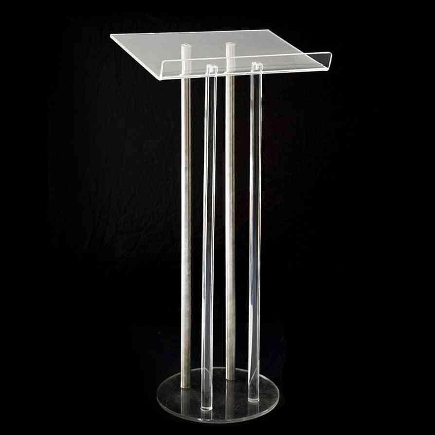 Reasonable Pure Acrylic Podium Pulpit Lectern