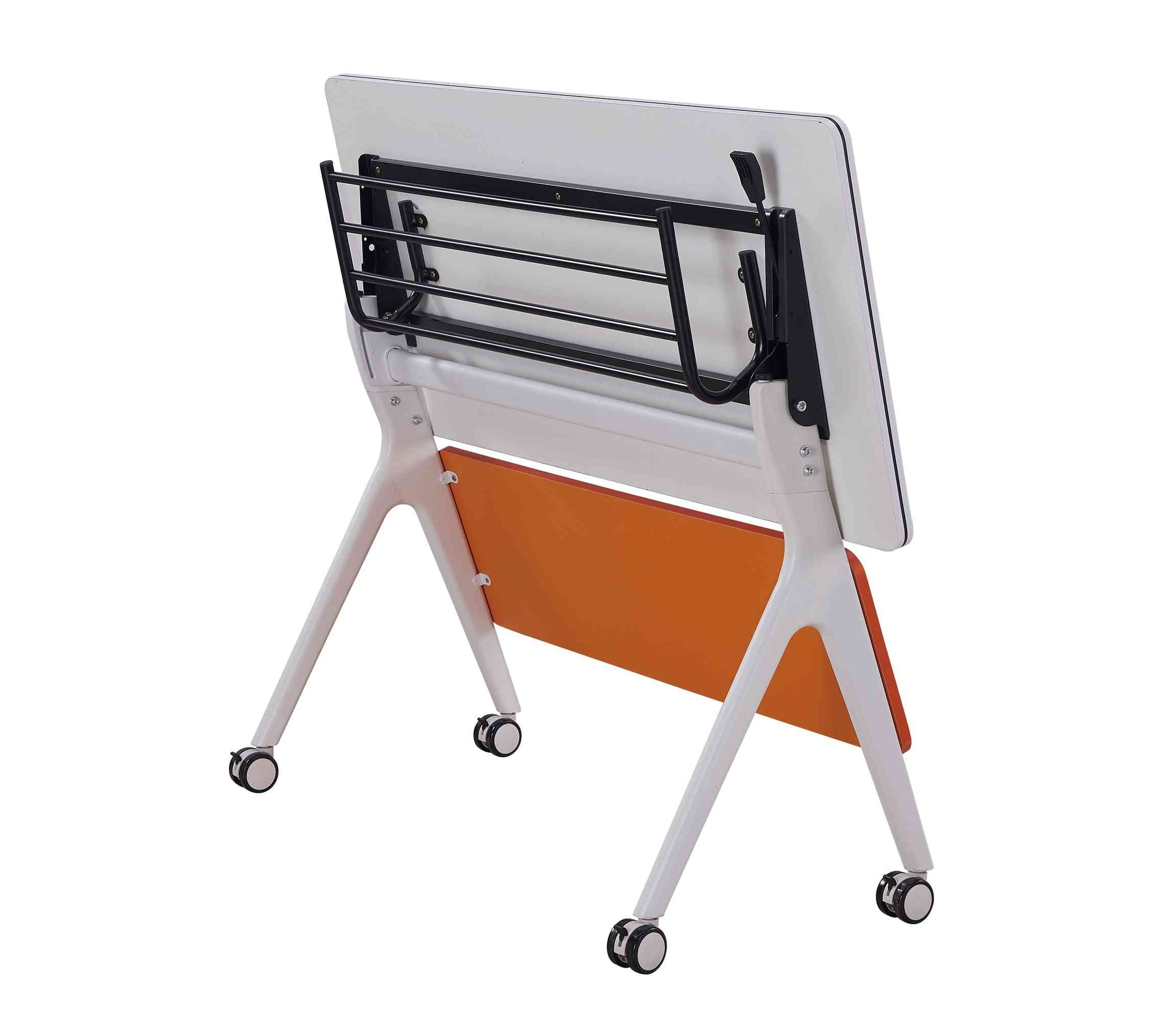 Training Folding School Furniture Student Table With Chair