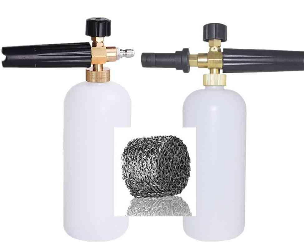 Soap Foamer Filter Nozzle Sprayer Generator Foam Gun For Karcher K2/quick Connector Cannon