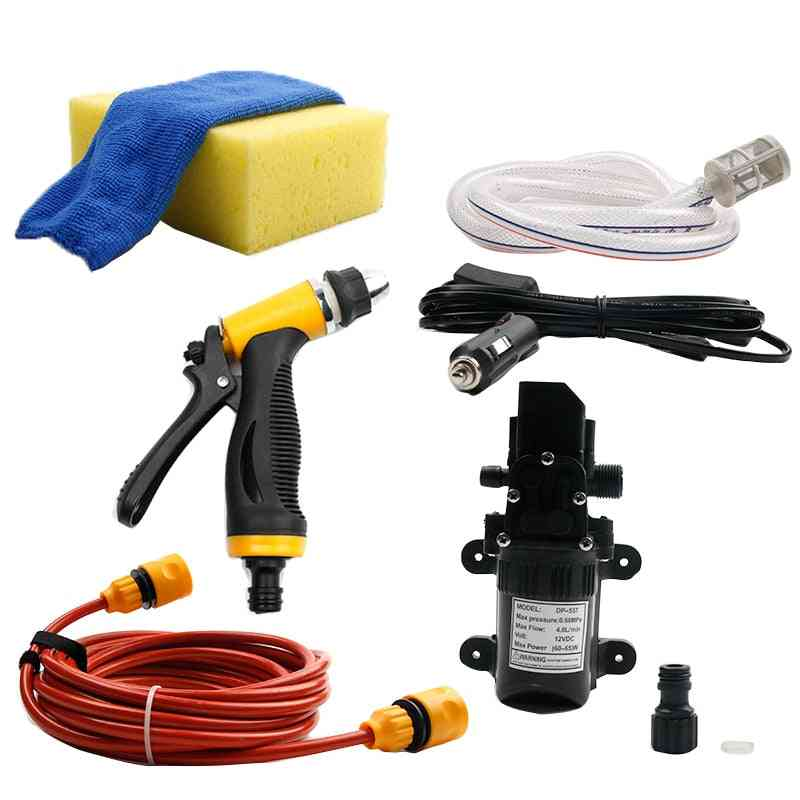 65w High Pressure, Electric Auto Cleaning Water Pump And Accessories
