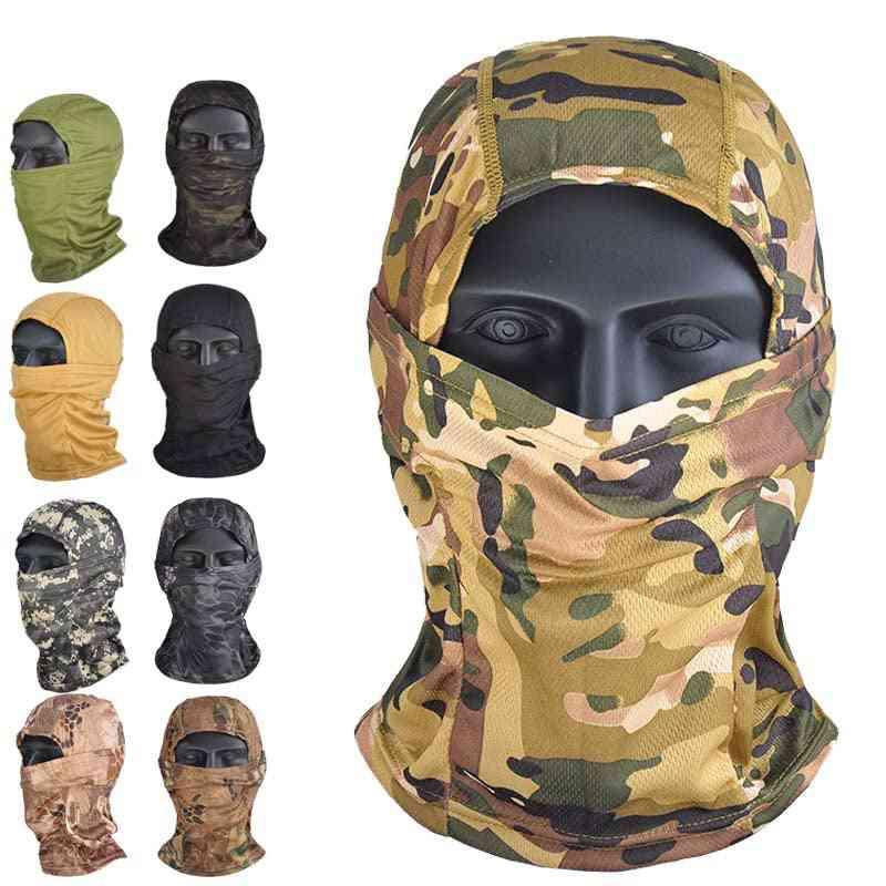 Cycling, Hunting, Army Bike, Camouflage Balaclava Full Face Mask