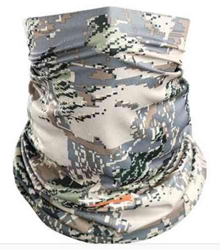 Hunting, Men Core Neck Gaiter Camouflage, Lightweight, Ultra-breathable, Men Wrap Scarves