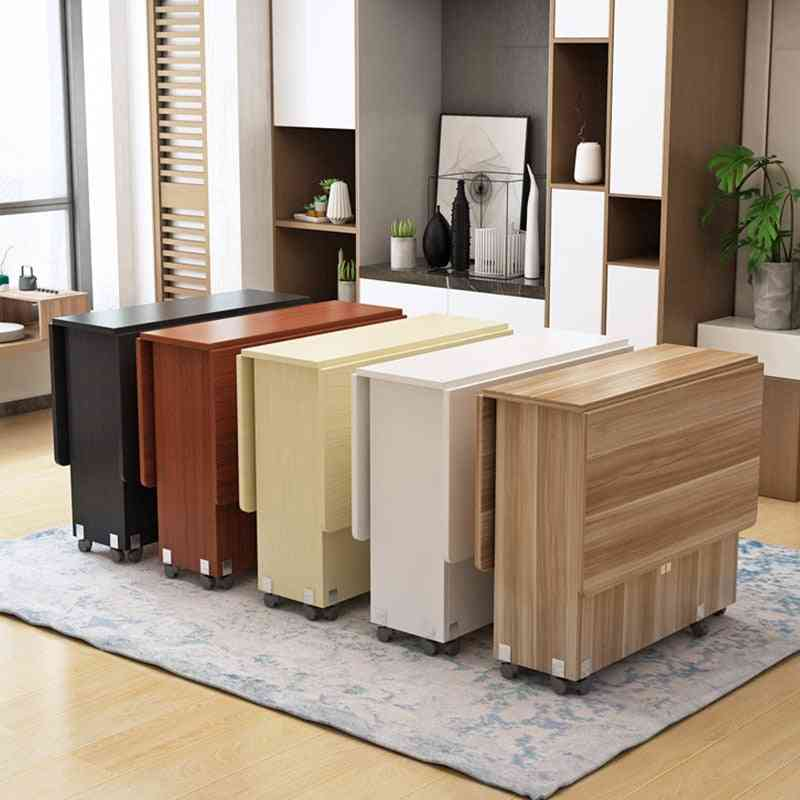 Creative Solid, Wood Folding Dining Table - Living Room Kitchen Table
