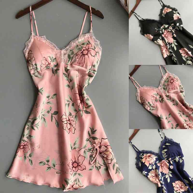 Lingerie Sleepwear Babydoll Underwear Night Dress Lace Sleepwear