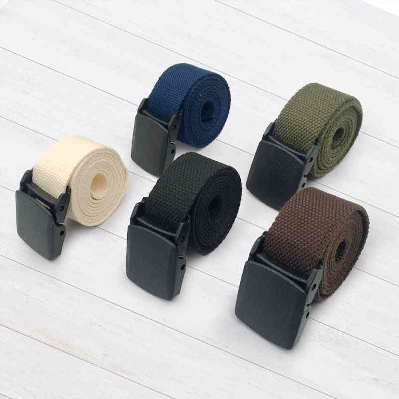 Men's Nylon Fabric, Army Style Outdoor Tactical Belt