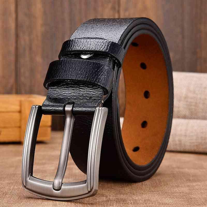 Cow Genuine Leather, Luxury Strap Male Belts