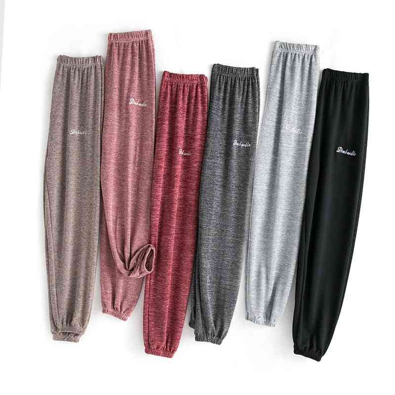 Soft, Casual And Ankle-length Lounge Wear Pants