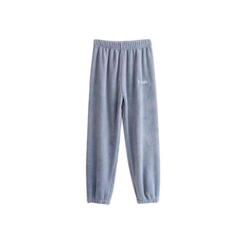 Women Flannel Pajama Bloomers Pants